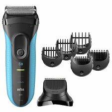 Braun Series 3 Shave & Style 3-in-1 FOIL SHAVER TRIMMER Wet Dry Electric Razor