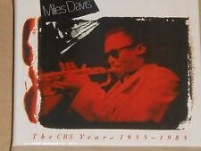 MILES DAVIS -The CBS Years 1955-1985- 4xCD BOX