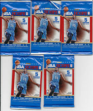 Lot of 5 - 2012-13 Panini NBA Hoops Basketball Cards Packs