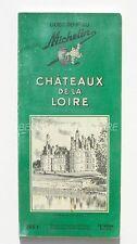 Ancien guide vert - Châteaux de la Loire - Michelin -12eme édition 1956 Chambord