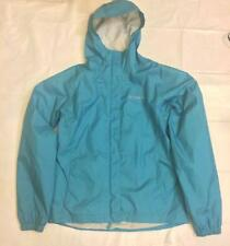 Pre-owned  COLUMBIA Teal Windbreaker Jacket Packable  SZ 18/20 Youth Women's S/M