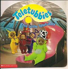 TELETUBBIES SCHOLASTIC BOOKS 1999 THIS LITTLE TELETUBBY RAGDOLL PRODUCTIONS UK