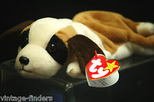 Ty Beanie Babies Collection Bernie 1996 Retired w Tags and Display Box b