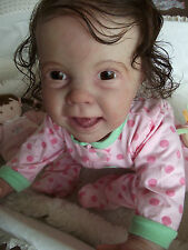 Cutest Newly Released Kenzie Reborn Baby Girl Doll~Donna RuBert~She's A Crawler!