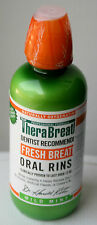 TheraBreath Oral Rinse Fresh Breath Dry Mouthwash 16 Oz 473 ml Bad Breath Mint