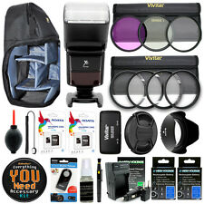 Canon EOS 70D Camera Everything You Need Accessory Kit / 67MM Accessories Bundle