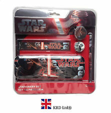 5Pcs STAR WARS Force Awakens LARGE STATIONERY SET Episode VII Kylo Ren Kids Gift