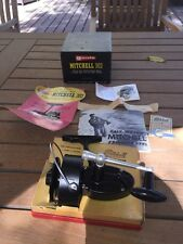 Vintage Mitchell 302 NEW ! All Paperwork Saltwater Fishing Reel