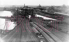 Boston & Maine (B&M) Southern Division Freight Yards in Boston, MA - 8x10 Photo