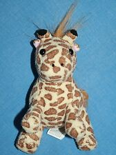 "Oriental Trading Plush Soft Toy GIRAFFE Mini 5"" Stuffed Brown Animal Small"