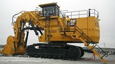 "CAT CATERPILLAR 6060 MINE EXCAVATOR TRACK HOE CUSTOM LARGE 43"" x 24"" HD POSTER"