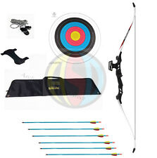 ASD Electrocution Take Down Recurve Bow Blk With White Limbs 40 Lbs ** Package *