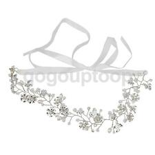 Party Wedding Sunflower Pearl Bead Hair Comb Hair Pins Bridal Accessories