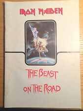 IRON MAIDEN - THE BEAST ON THE ROAD - WORLD TOUR PROGRAM