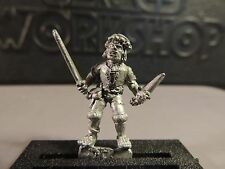 FEUDAL PEASANT JACK SWORD DAGGER EMPIRE BRETONNIA METAL GAMES WORKSHOP WARHAMMER
