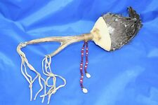 VINTAGE NATIVE AMERICAN CEREMONIAL TALISMAN SNAKE RIVER DRAINAGE BEADS SHELLS