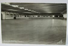 1930's REDONDO SKATING ARENA WASH. #C-45 RPPC real photo postcard INTERIOR