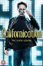CALIFORNICATION COMPLETE SERIES 6 DVD BOX SET 6th Sixth Season New UK Release