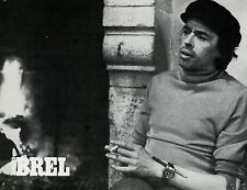 JACQUES BREL LE FILM FREDERIC ROSSIF 1979  PHOTO D'EXPLOITATION ANCIENNE N°5