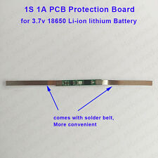 1S 1A 18650 Li-ion lithium Battery Cell Soler belt PCB Charger Protection Board