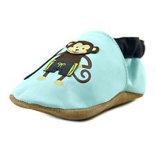 Robeez Surfer Dude Monkey Infant US 4 Blue Booties Shoes
