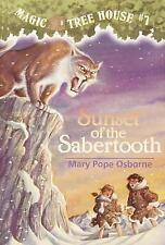 Magic Tree House Sunset of the Sabertooth No. 7 by Mary Pope Osborne (1996, Pape