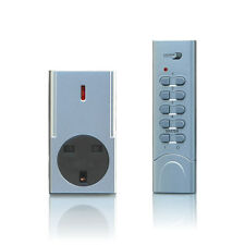 Home Easy Remote Control Socket Kit, Silver