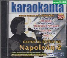 Napoleon Exitos Al estilo Pistas Musicales & Karaoke New Nuevo sealed