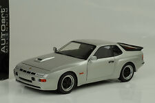 1980 Porsche 924 Carrera GT diamond silver  silber 1:18 Autoart