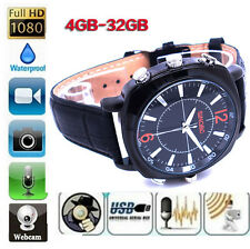 4 GB Men Waterproof Spy Sport Watch 1080P Sound Alone Record Hidden Video Camera