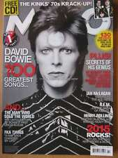 Mojo February 2015 32 pages of David Bowie The Kinks Ian McLagan Rollins Cover 1