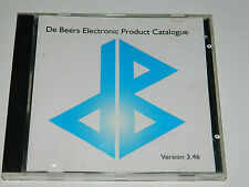 1996 DE BEERS ELECTRONIC PRODUCT CATALOGUE diamond division CD ROM debcat