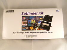 Satfinder Satellite Signal Meter Installation Kit, Compass, Battery Pack & Cable