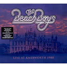 THE BEACH BOYS ~ KNEBWORTH 1980 NEW SEALED CD GREATEST HITS LIVE + FREE POSTER