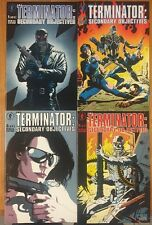 Terminator Secondary Objectives #1 2 3 4 (1991) Dark Horse Complete Series