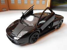 LAMBORGHINI MURCIELAGO DIE CAST Toy Car MODEL boy dad birthday BLACK NEW!!!!!!!