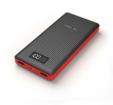 (100% Original) PINENG PN-969 20000mAh Lithium Polymer Power Bank Charger- Black