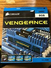Corsair Vengeance 8GB - DDR3 1600Mhz - Blue