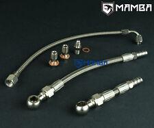 MAMBA Turbo Oil & Water line Kit For Subaru FA20T OEM Garrett MGT2259S