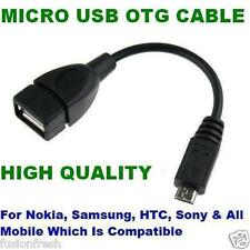 Micro USB OTG Cable For Pendrive Mouse Keyboard To Mobiles Tablet Samsung Nokia