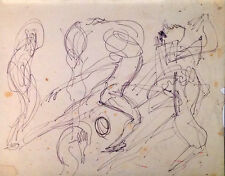 Julian Ritter - Sketches for Future Painting Pencil on Paper - 94