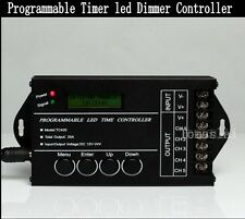 DC12-24V 20A 5CH RGBW RGB CW/WW LED Programmable Timer timmer Dimmer Controller
