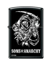 Zippo 5732 sons of anarchy reaper black matte finish full size Lighter