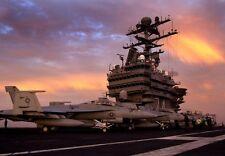 """FA-18F Super Hornets aboard USS John C. Stennis 13""""x 19 Iraq War Photo Poster 61"""