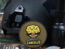 CANCELED 3D FALLOUT ATOMIC BOMB AIRSOFT TACTICAL MORALE VELCRO® RUBBER PVC PATCH