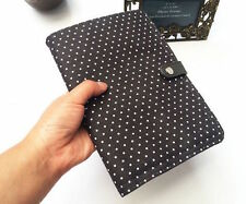 Thirty one Double Up Clutch purse bag 31 gift CITY CHARCOAL SWISS DOT wallet a