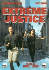 AFFICHE PROMO VIDEO CLUB--EXTREME JUSTICE--PHILLIPS/GLENN/LESTER