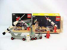 Vintage LEGO 897/462 Mobil Rocket Launcher Space- Complete w/Box & Instruction