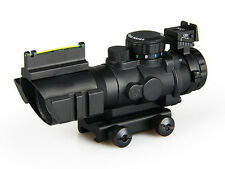 4x32 Dual Illumination Compact Scope With Fiber Optic Sight For Hunting BFR-022