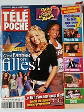 b)Télé Poche 9/09/2006; Star Ac/ Garou/ Charlie's Angels/ MO Fogiel/ Magic Syste